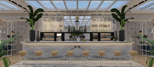 Using Marble in Restaurant and Bar Interiors